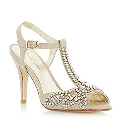 Roland Cartier - Metallic embellished jewel heeled sandal