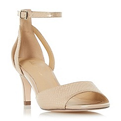Roland Cartier - Natural 'Magna' two part mid heel sandal