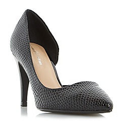 Roland Cartier - Black 'Dovey' pointed toe semi d court shoe