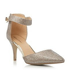Roland Cartier - Metallic two part pointed toe court shoe