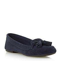 Roberto Vianni - Blue suede tassel loafer