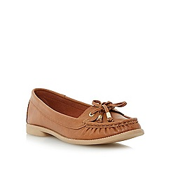 Roberto Vianni - Brown lace detail loafer