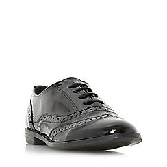 Roberto Vianni - Black 'Fallow' lace up brogue shoe