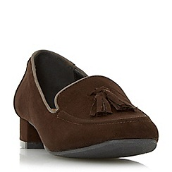 Roberto Vianni - Brown 'Gullan' tassel trim loafer shoe