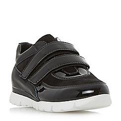 Roberto Vianni - Black 'Erim' comfort double strap trainer