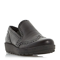 Roberto Vianni - Silver 'Gibeen' comfort flatform brogue shoe