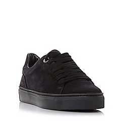 Roberto Vianni - Navy 'Eleaza' comfort lace up chunky sole trainer