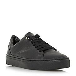 Roberto Vianni - Black 'Eleaza' comfort lace up chunky sole trainer