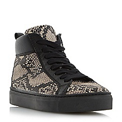 Roberto Vianni - Multicoloured 'Eliva' comfort snake print high top trainer