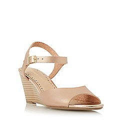 Roberto Vianni - Rose 'Kassy' two part peep toe wedge sandal