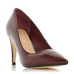 Roberto Vianni - Maroon 'Axell' pointed toe court shoe