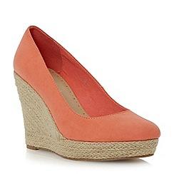 Roberto Vianni - Red  espadrille wedge court shoe