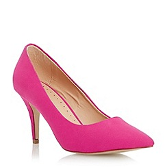 Roberto Vianni - Pink pointed toe mid heel court shoe