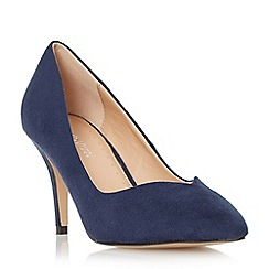 Roberto Vianni - Blue pointed toe mid heel court shoe
