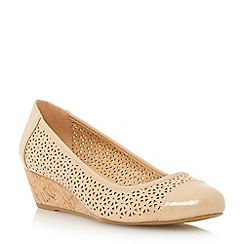 Roberto Vianni - Neutral laser cut wedge shoe
