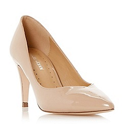 Roberto Vianni - Natural 'Albelo' sweetheart cut mid heel court shoe