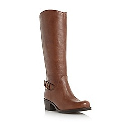 Roberto Vianni - Tan 'Tisbury' leather riding boot