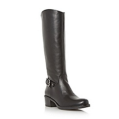 Roberto Vianni - Black 'Tisbury' leather riding boot
