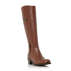 Roberto Vianni - Tan 'Tiptree' buckle trim leather riding boot