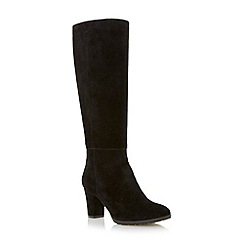Roberto Vianni - Black knee high suede boot