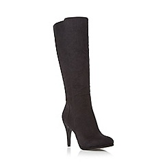 Roberto Vianni - Black 'Sherelle' high heel knee high boot