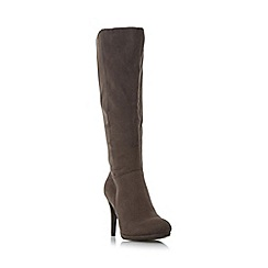 Roberto Vianni - Grey 'Spire' dressy knee high boot