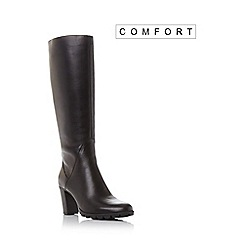 Roberto Vianni - Brown 'Sebrina' comfort round toe knee high boot