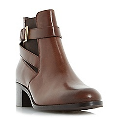 Roberto Vianni - Tan 'Priorie' buckle strap ankle boot