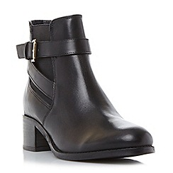 Roberto Vianni - Black 'Priorie' buckle strap ankle boot