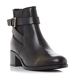 Roberto Vianni - Black 'Priorie' buckle strap ankle boots