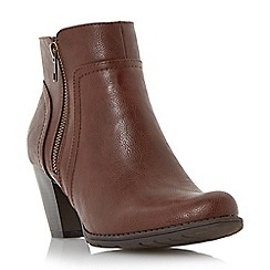 Roberto Vianni - Brown 'Pristine' side zip ankle boot