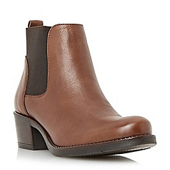 Roberto Vianni - Brown round toe leather chelsea boot