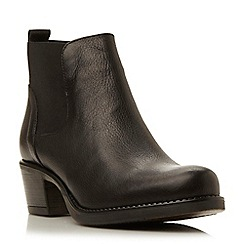 Roberto Vianni - Black-leather 'Heeled' chelsea boot