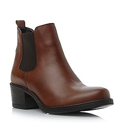 Roberto Vianni - Brown heeled chelsea boot