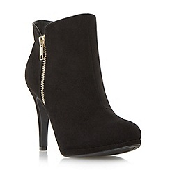 Roberto Vianni - Black 'Opia' side detail dressy ankle boot