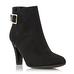 Roberto Vianni - Black 'Octavio' buckle detail ankle boot