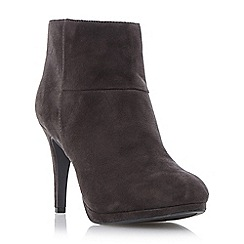 Roberto Vianni - Grey cuff detail high heel ankle boot