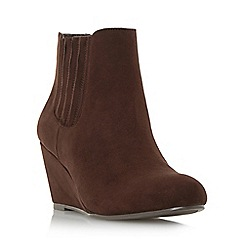 Roberto Vianni - Brown 'Oskar' wedge ankle boot