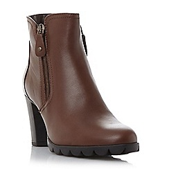 Roberto Vianni - Brown 'Olida' comfort side zip detail ankle boot