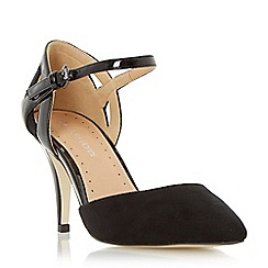 Roberto Vianni - Black two part pointed toe court shoe