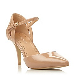 Roberto Vianni - Neutral two part pointed toe court shoe