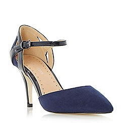 Roberto Vianni - Blue two part pointed toe court shoe