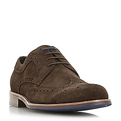 Dune - Brown 'Radcliffe' derby brogue shoe