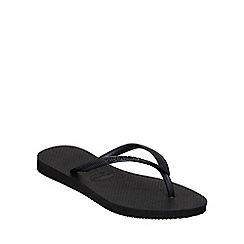 Havaianas - Black slim flip flop