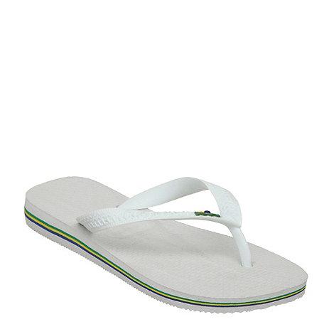 Havaianas - White +4000032+ classic flag flip flop