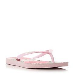 Havaianas - Pink '4129848' slim  floral print flip flop