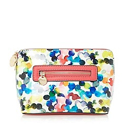 Dune - Multicoloured 'Sasha' front zip make up bag