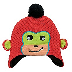 Dare 2B - Boys Fiery red irratic winter warm beanie