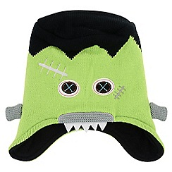 Dare 2B - Boys Lime green egghead winter warm beanie