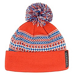 Dare 2B - Boys Orange/blue braintease winter warm beanie